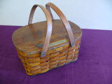 Mill lunch basket, Angus Gunn Sr., Grand Falls-Windsor