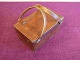 Hillier  plywood mill lunch basket (light), Grand Falls-Windsor