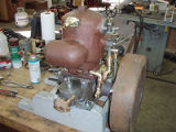 Dick Alcock Acadia Engine Restoration  half done, Roscoe USA
