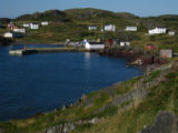 View of Keels Harbour, homes and outbuildings