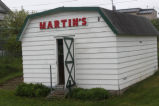 Martin, Harrison. Martin store on the family property in Little Catalina.