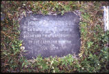 "Grave markers, old cemetary, Nain, Labrador, ""Christoph Braseiv Born 1738 Died 1774 Surgeon and First"
