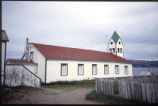 West elevation, Church, Nain, Labrador