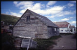 Building in Nain, Labrador, from South West