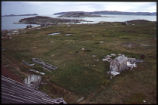 From Church Bell tower, Hebron, Labrador, garden to South East