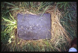 Theophil Busser Stone, Missionary Graveyard, Hopedale, Labrador
