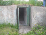 Brophy root cellar, exterior, Portugal Cove-St.Philip's.