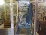 Brophy root cellar, interior, Portugal Cove-St.Philip's.
