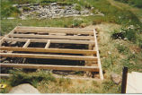 Juggler's Cove 3 root cellar restoration, stage 2, Bay Roberts