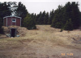 Boland root cellar prior to renovations, Spring 2003, Logy Bay-Middle Cove-Outer Cove