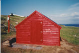 Juggler's Cove 3 root cellar restoration, stage 7, Bay Roberts