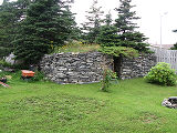 Harbour Grace root cellar 1, exterior, Harbour Grace, Newfoundland