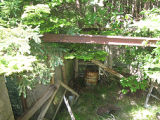 Hibbs Root Cellar, Collapsed Roof Support, Portugal Cove-St. Phillips