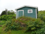 Upper Island Cove root cellar 1, exterior