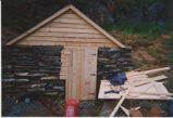 French's Cove 4 root cellar restoration, stage 3, Bay Roberts