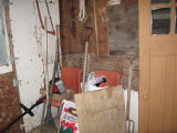 Tucker Root Cellar, Shed Interior, Portugal Cove-St. Phillips