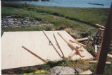 Juggler's Cove 3 root cellar restoration, stage 3, Bay Roberts