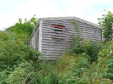 Upper Island Cove Root Cellar 8, shed exterior