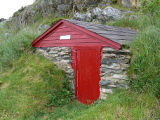 French's Cove 6 root cellar, exterior, Bay Roberts