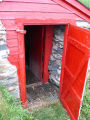 French's Cove 6 root cellar, entrance, Bay Roberts