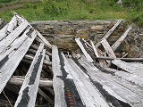 Elke Dettmer 3, Collapsed Cellar Walls, Sullivans Loop, Pouch Cove