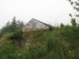 Brigus root cellar 3, built into hill, Brigus, Newfoundland
