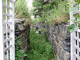 Harbour Grace root cellar 3, entrance, Harbour Grace, Newfoundland
