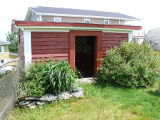 Upper Island Cove Root Cellar 2, shed exterior