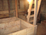 Lamswood Root Cellar, Cellar Interior, Portugal Cove-St. Phillips