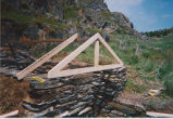 French's Cove 4 root cellar restoration, stage 2, Bay Roberts