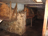Government House Root Cellar, Interior Full Lenght view, St. John's