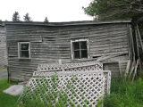 Botanical Garden Root Cellar, Carriage House Rear Exterior, St. John's