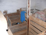 Dalton Root Cellar, Interior Pounds, Cape Broyle