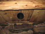 English Root Cellar, Interior Vent, Colliers