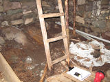 English Root Cellar, Interior Floor, Colliers