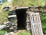Spence Root Cellar, Exterior Entrance, Brigus