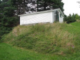 English Root Cellar, Exterior Side, Colliers