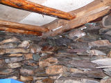 Hawkins Root Cellar, Interior Ceiling, Admirals Cove
