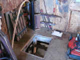 Duggan 2 Root Cellar, Interior Hatch Entrance, Cape Broyle