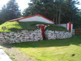 Harbour Grace root cellar 5, exterior, Harbour Grace, Newfoundland