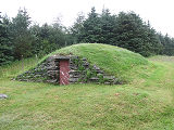 Harbour Grace root cellar 2, exterior, Habour Grace, Newfoundland