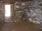 Harbour Grace root cellar 2, interior, front, Habour Grace, Newfoundland
