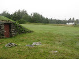 Harbour Grace root cellar 2, cellar and former garden, Habour Grace, Newfoundland