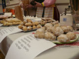 "Hlinik, Alena. Photo of some traditional ""Soviet"" cookies at Alena Hlinik's table at..."