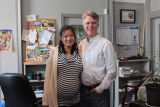 Photo of Zoe Wu and Dale Jarvis