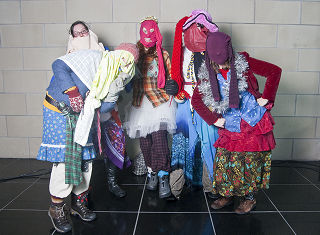 Participants in the 2009 Mummers Parade, St. John's, 49.