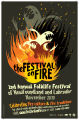 The Festival on Fire poster print