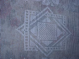 Bromley, Mary. A crocheted tablecloth made by Mary Bromely, Conche, Newfoundland.