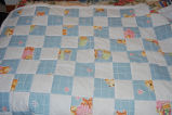 Bromley, Mary.  A baby quilt made by Mary Bromely, Conche, Newfoundland.
