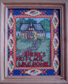 Bromley, Mary. A cross-stitch piece done by Mary Bromely, Conche, Newfoundland.